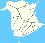 Small Map - New Brunswick
